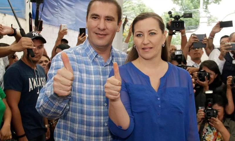 ان کے شوہر بھی اسی ریاست کے گورنر رہ چکے ہیں—فوٹو: ایل دیادرو