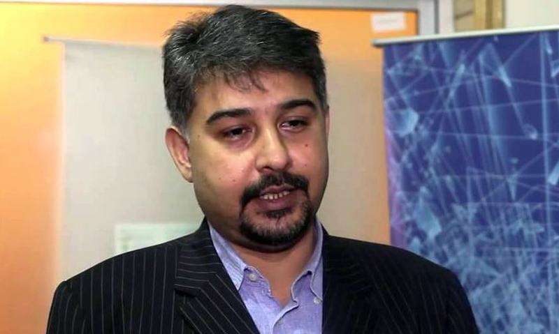 Former MNA Syed Ali Raza Abidi. — File