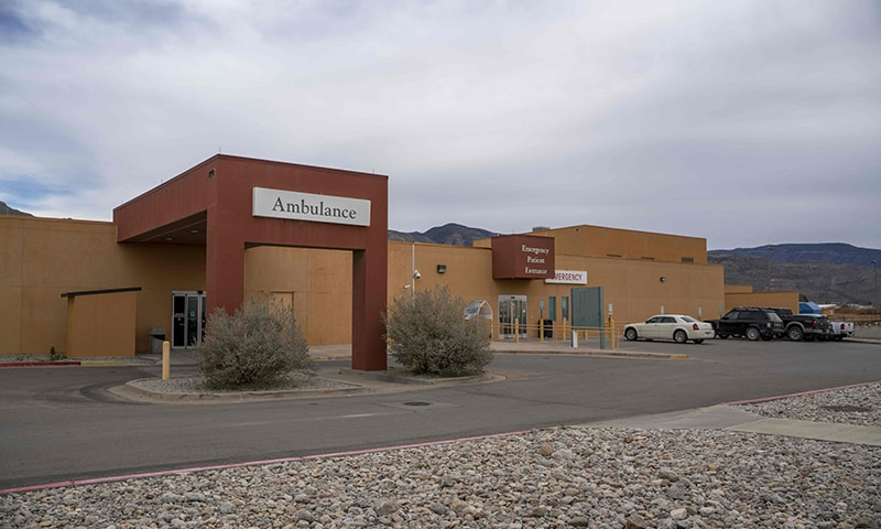 Gerald Champion Regional Medical Center in Alamogordo, New Mexico, where Customs and Border Protection reported the death of an eight-year-old migrant from Guatemala which occurred shortly after midnight on Christmas morning. ─ AFP