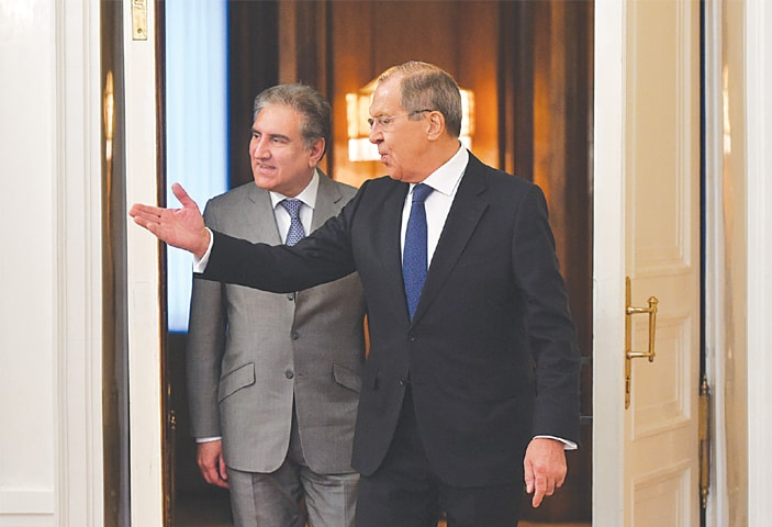 Pakistan, Russia discuss progress on Afghan peace process