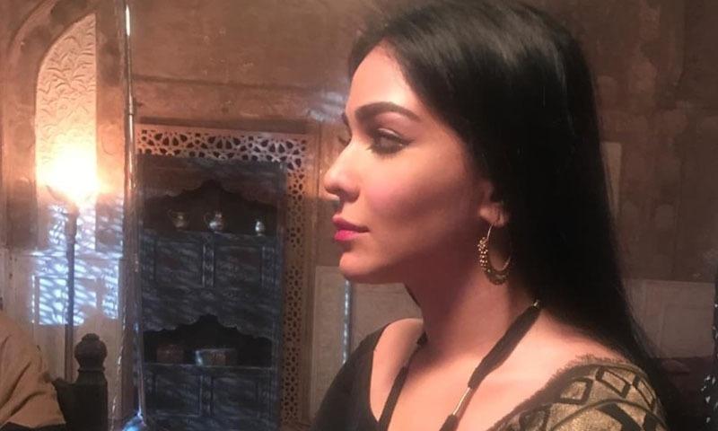 حمائمہ ملک فلم میں راج کماری کا کردار نبھاتی نظر آئیں گی —فوٹو/ اسکرین شاٹ