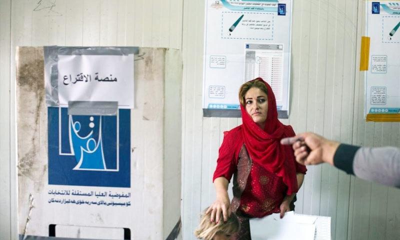 انتخابات مجموعی طور پر پر امن ہوئے—فوٹو: ڈیلی نیوز