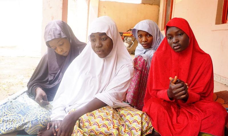 بوکو حرام نے ان لڑکیوں کو 2014 میں اغوا کیا تھا—فوٹو: وائس نیوز