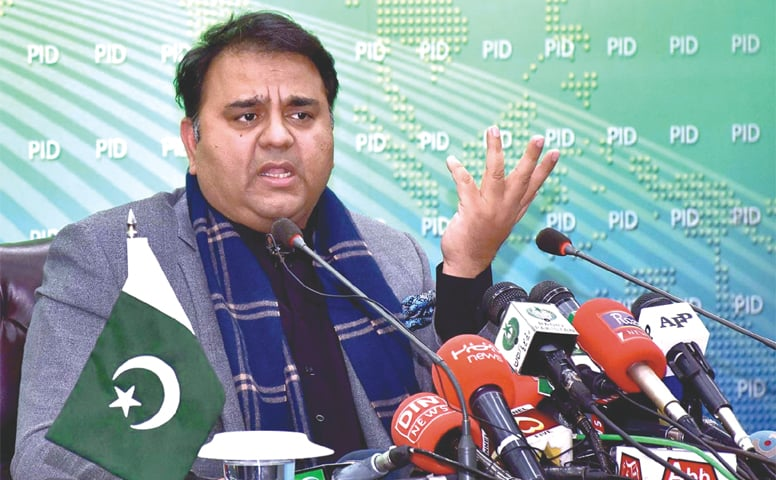 FAWAD Chaudhry says Asif Zardari will now know the seriousness of JIT.—APP