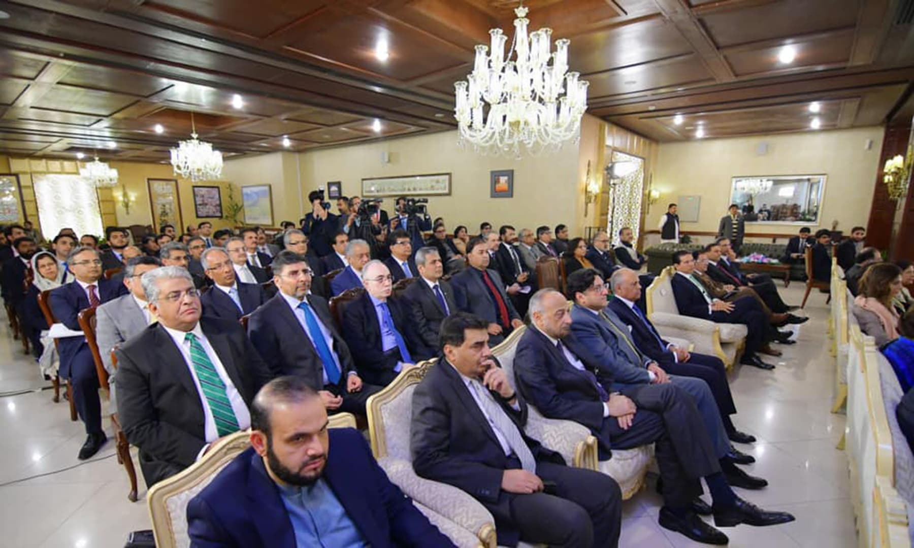 The participants of the two-day Envoys Conference on Economic Diplomacy in Islamabad. —PID