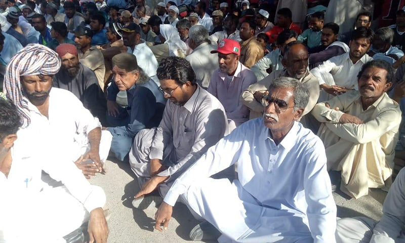 Gwadar fishermen protest against construction of CPEC's