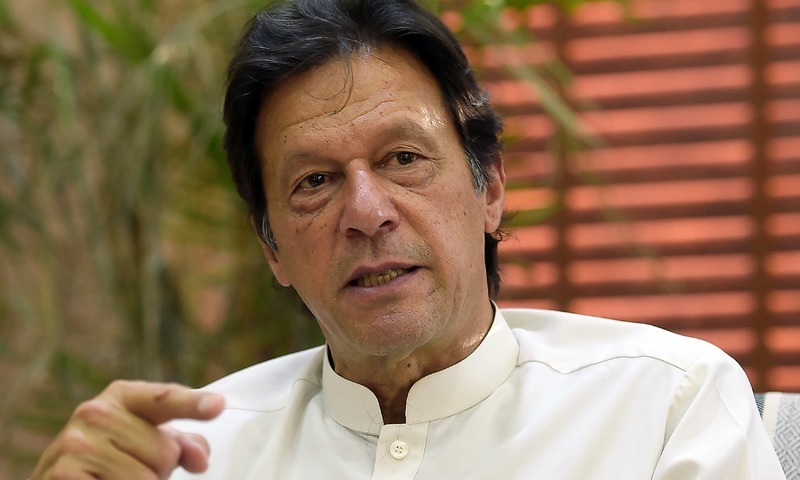 Prime Minister Imran Khan claims situation is improving, promises foreign investment, export promotion and import substitution at the same time. — File photo