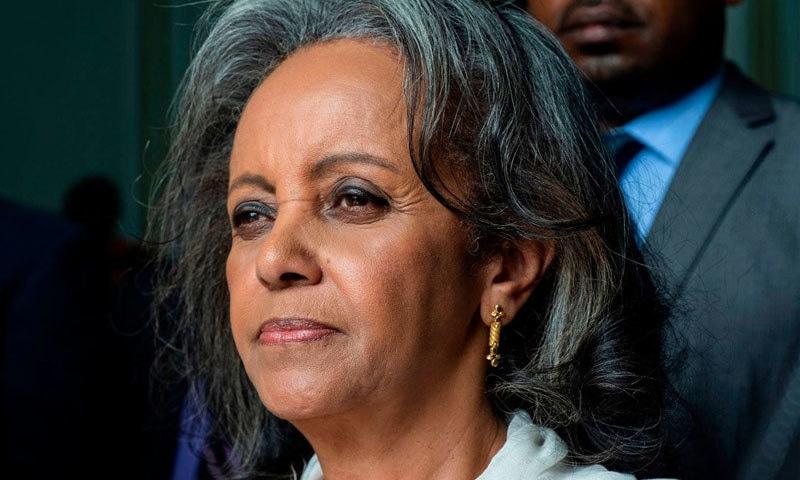 پہلی بار افریقی ملک میں خاتون صدر منتخب ہوئیں—فوٹو: اے ایف پی