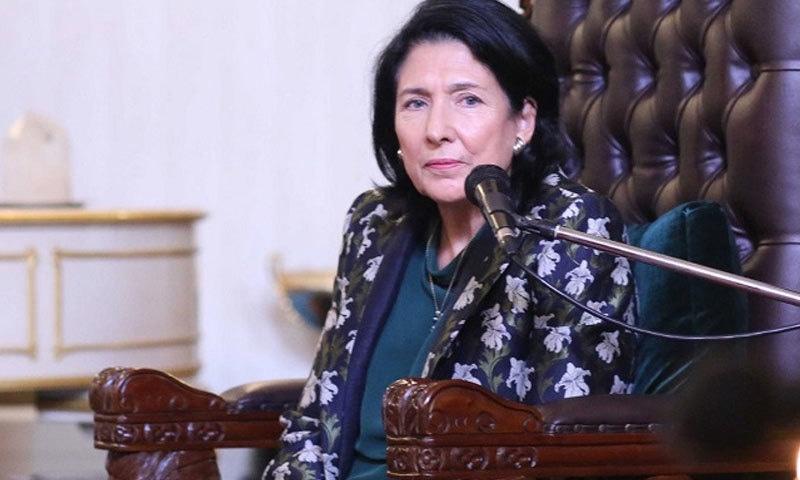 صدر منتخب ہونے سے قبل سالومے سفیر تھیں—فوٹو: ایجنڈا ڈاٹ جی اے