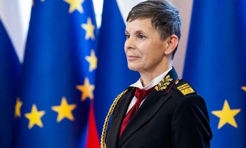 ایلنا ایرمنگ کئی سال سے فوج میں اعلیٰ عہدے پر فائز تھیں—فوٹو: فرنٹ نیوز