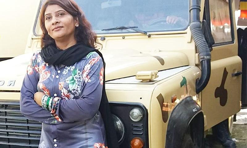 کرشنا کماری ہندو برادری کی پہلی خاتون سینیٹر ہیں—فوٹو: فیس بک