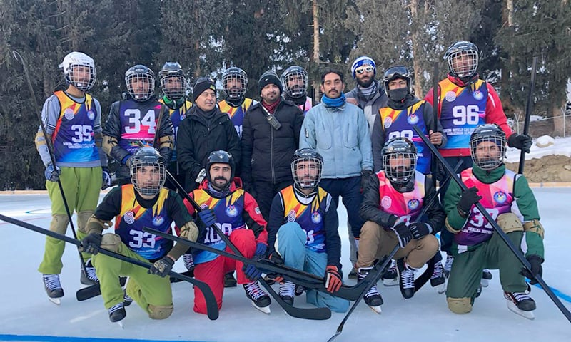 The match was played between the teams of Pakistan Air Force and GB Scouts. —APP