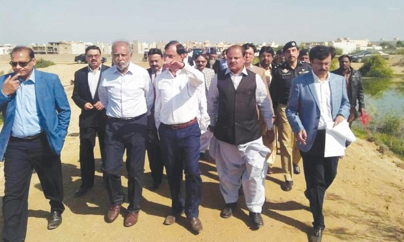 The commission, headed by retired Justice Amir Hani Muslim, issued bailable warrants in the sum of Rs15,000 each against the owners of two firms. ─ Dawn/File