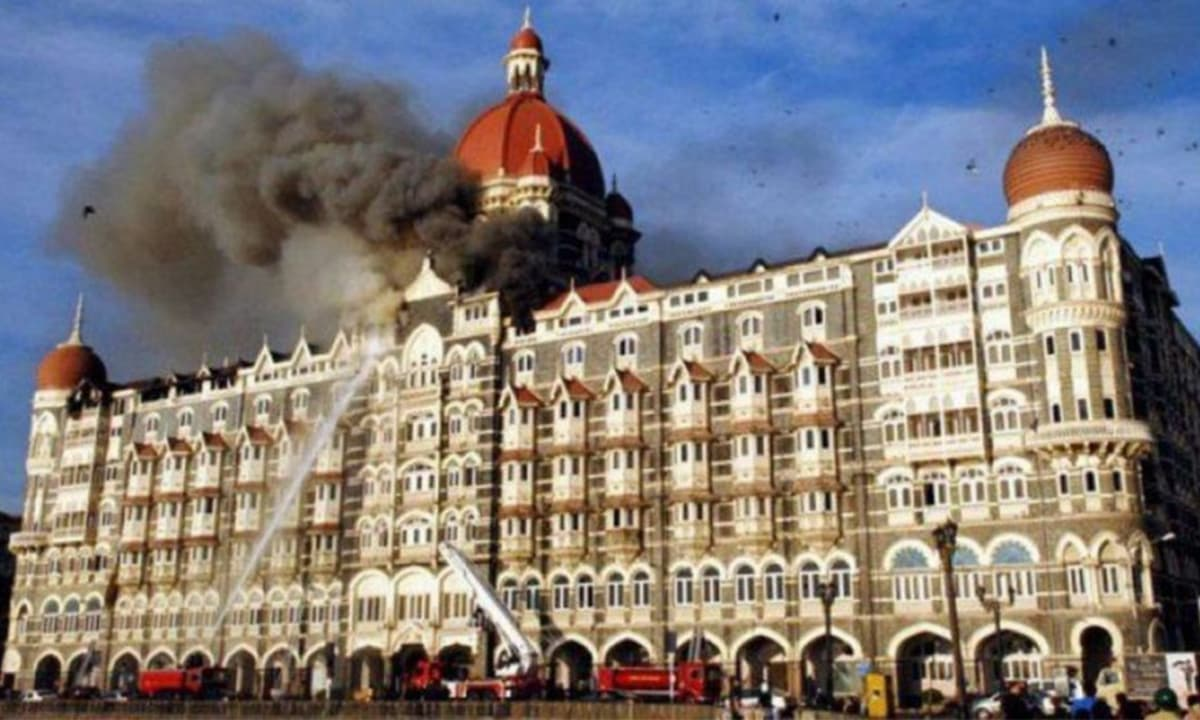 Taj Mahal Palace hotel under siege during the 26/11 terror attacks in Mumbai | Punit Paranjpe, Reuters