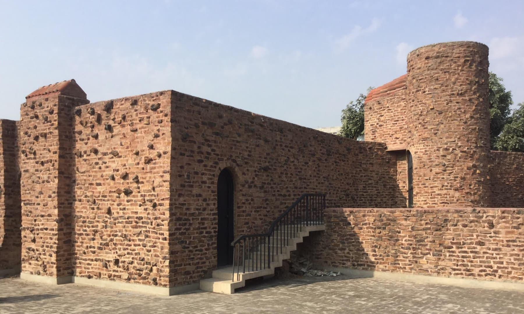 شاکر علی کے گھر کی چھت