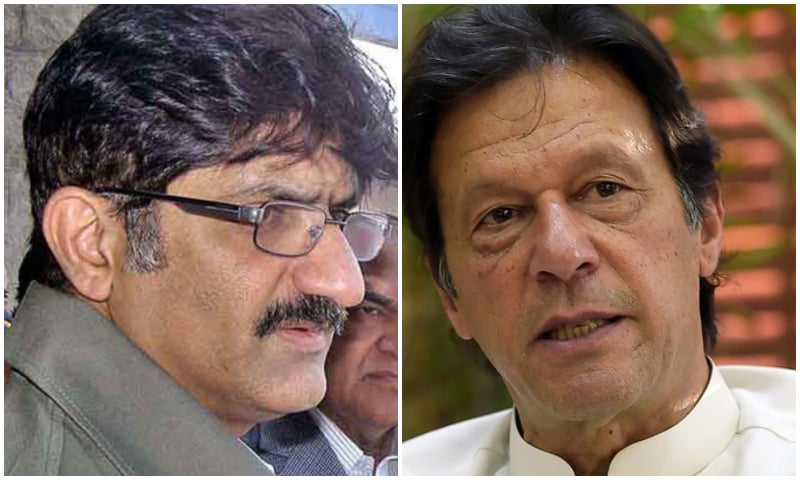 """The PTI government initiated an unnecessary controversy by placing on ECL the name of Murad Ali Shah,"" says former Punjab governor Makhdoom Ahmed Mahmood. ─ File photo"