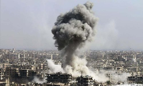 Strike comes a day after Iraq's government hinted at greater involvement for its armed forces in Syria. — File photo