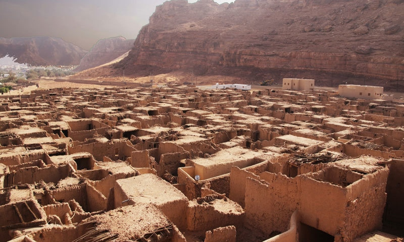 العلا میں اب بھی قدیم مکان بہترین حالت میں موجود ہیں—فوٹو:ونٹر ایٹ تنتورا