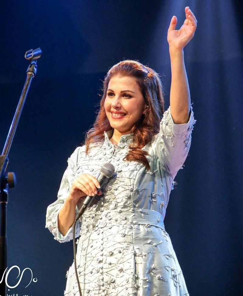 لبنانی گلوکارہ ماجدہ الرومی نے اس میلے میں 28 دسمبر 2018 کو فن کا مظاہرہ کیا—فوٹو: ماجدہ انسٹاگرام