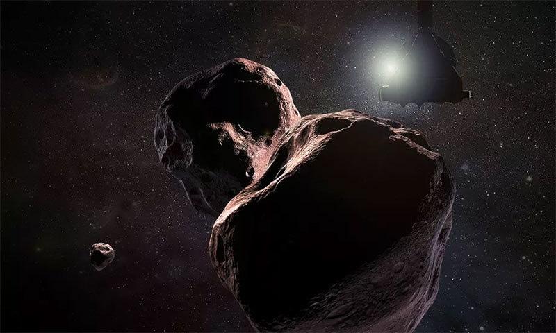 ناسا کا خلائی مشن پراسرار سیارچے تک پہنچنے میں کامیاب