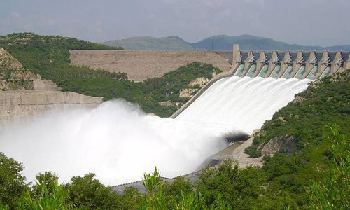 The Rs300 billion Mohmand dam project has now become controversial. — File photo