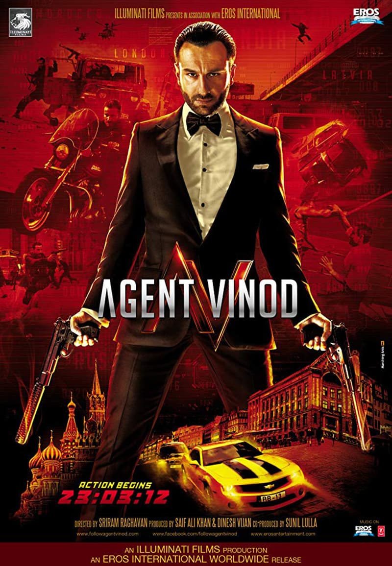 ایجنٹ ونود کا پوسٹر