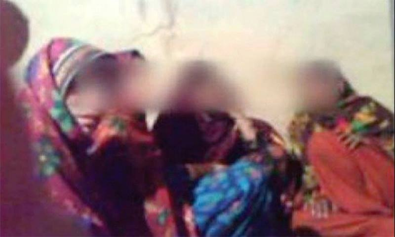 Khyber Pakhtunkhwa police have discovered that the five Kohistan girls seen cheering on male dancers in a 2011 video were killed. ─ File photo