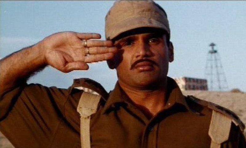 فلم بارڈر میں سنیل شیٹی بطور بھارتی فوجی