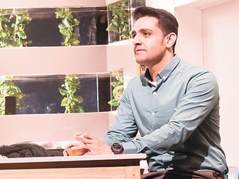 Actor Zain Afzal