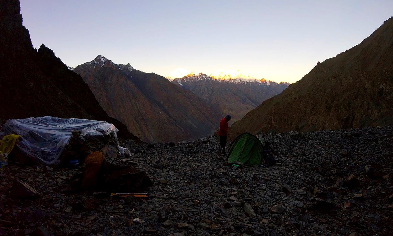 Day 5: Advanced Base Camp at 4,556m.