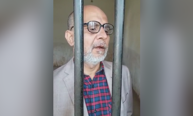 The MPA says he will file a petition against his conviction in the Sindh High Court.  — DawnNewsTV