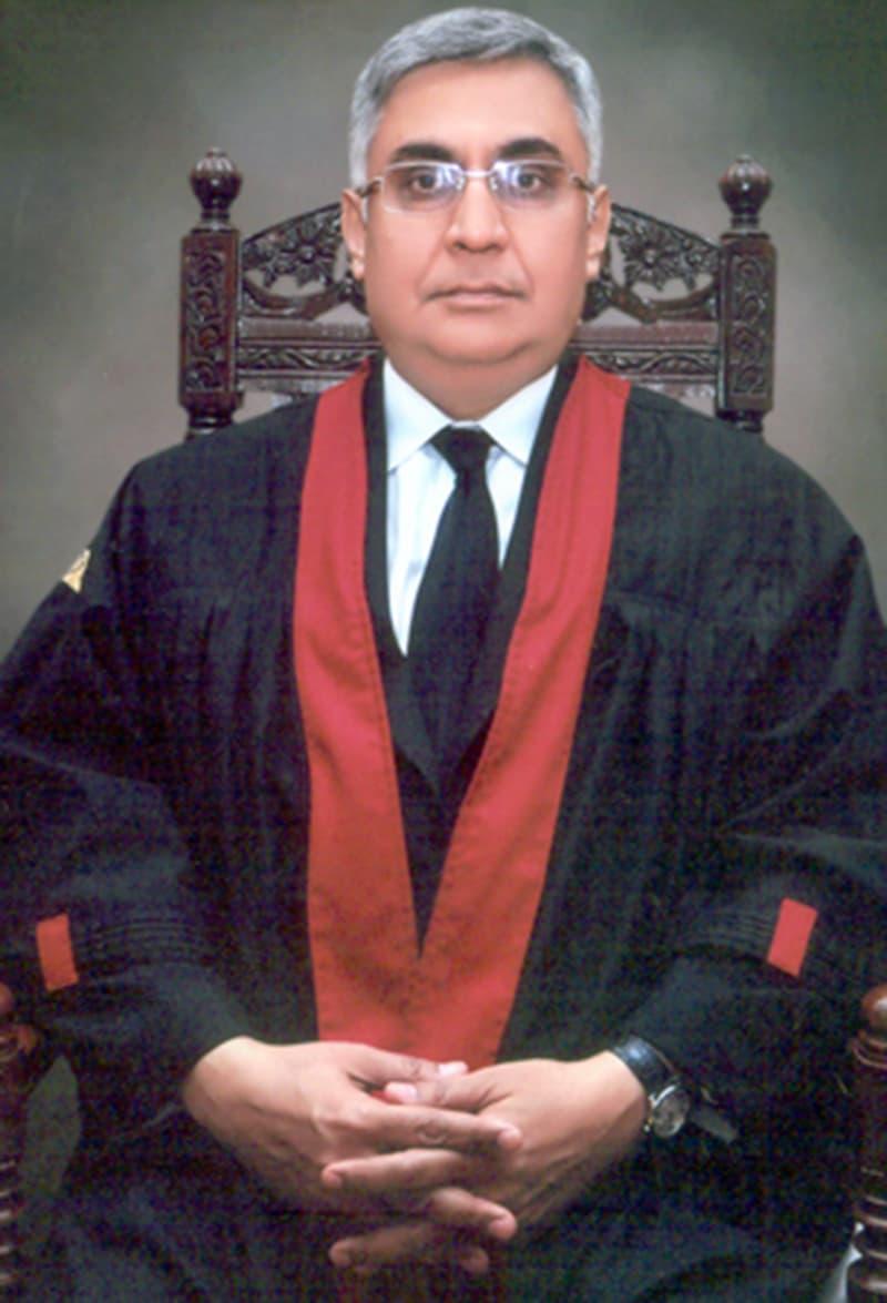 Justice Muhammad Farrukh Irfan Khan. Photo:lhc.gov.pk
