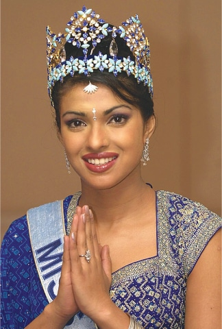 Her first brush with fame was in 2000, when she was crowned Miss World | AFP