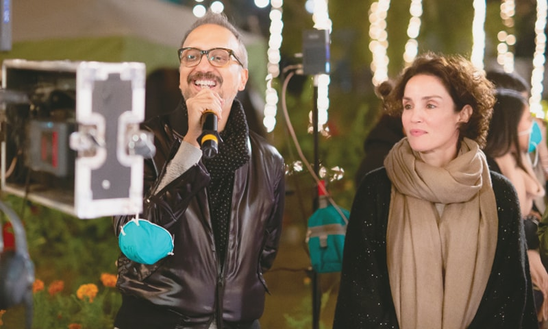 Asim and Sonya Jehan who has a cameo in PHL