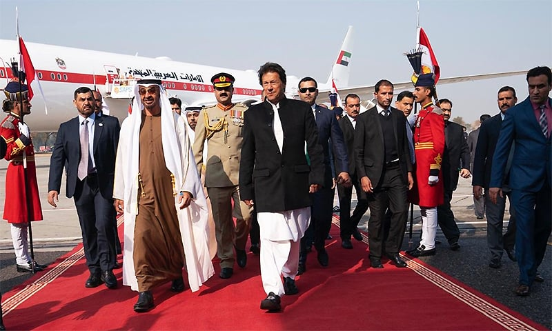 $3 billion financial assistance sealed as Abu Dhabi Crown Prince meets PM Khan in Islamabad