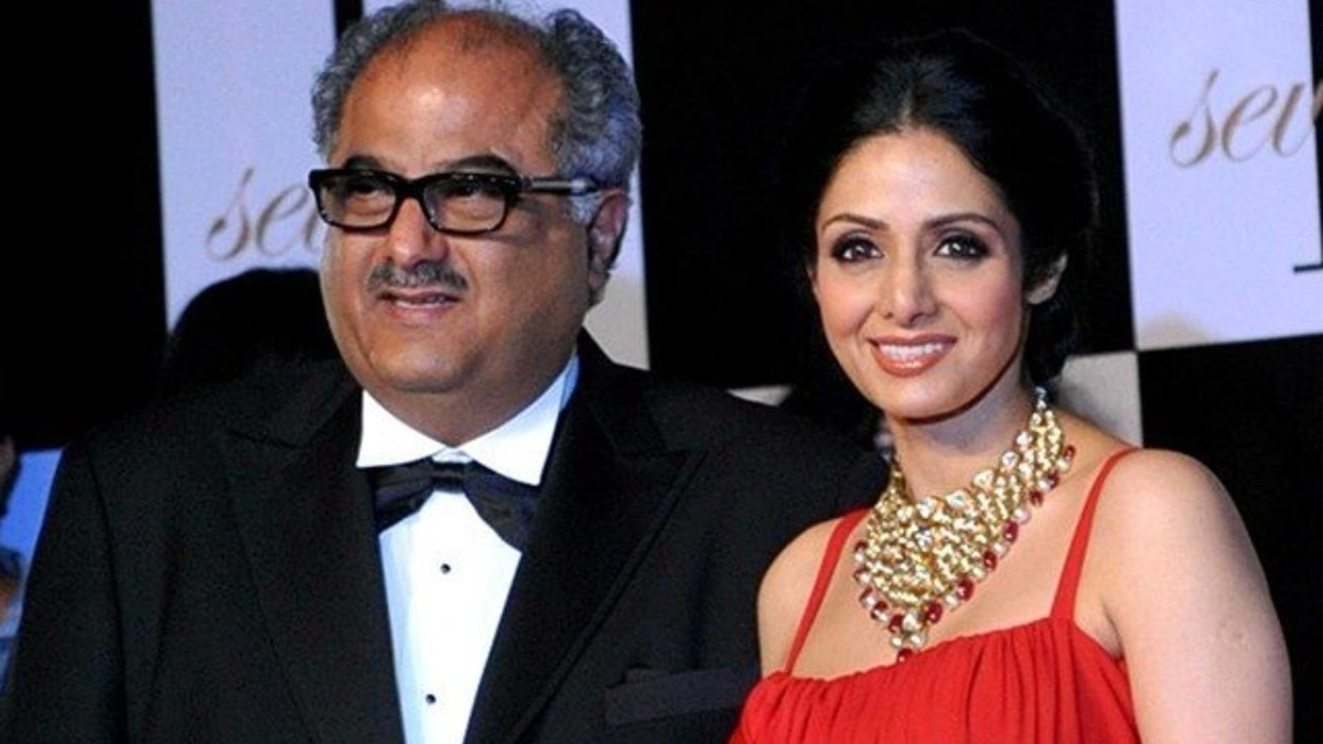 Boney Kapoor plans to make a biopic on Sridevi