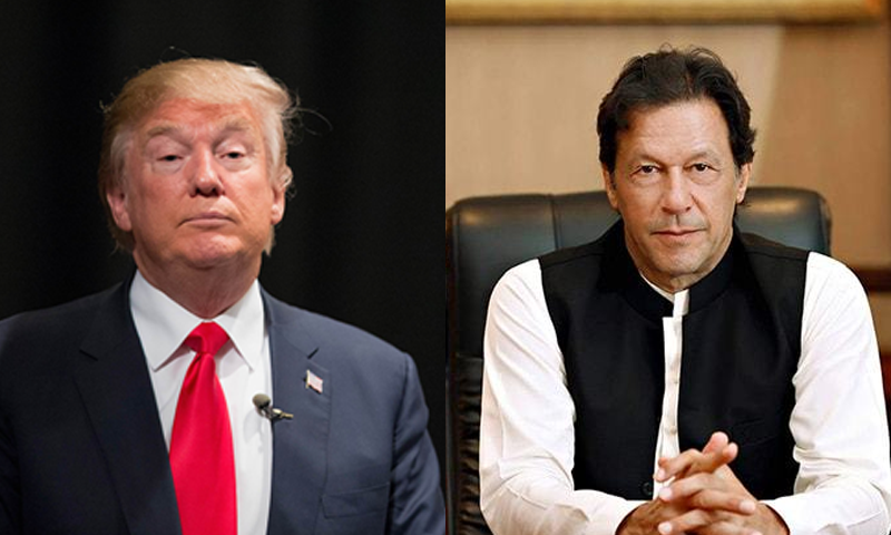 ٹرمپ نے بھی نئی پاکستانی قیادت سے ملاقات کی خواہش کا اظہار کیا تھا — فائل فوٹو