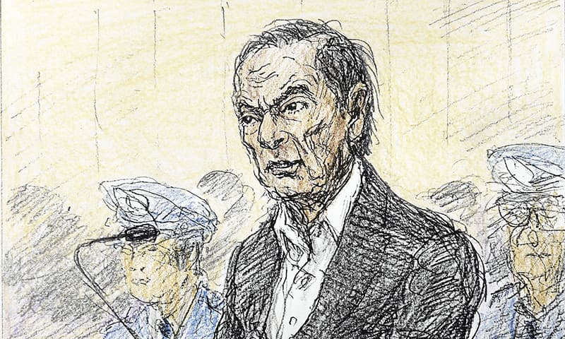 Nissan's ex-chair Ghosn appears in court, asserts innocence