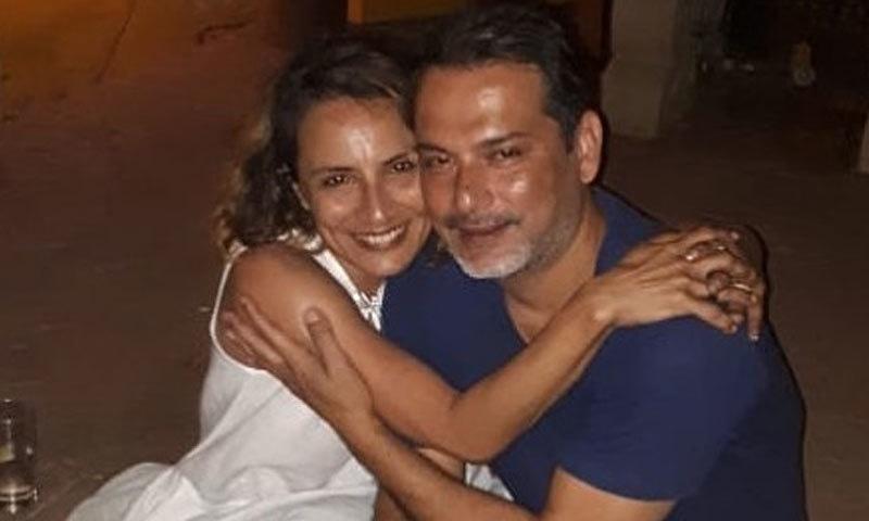 فرحان اختر کی سابق اہلیہ اس وقت ڈینو موریا کے بھائی سے تعلقات میں ہیں—فوٹو: انسٹاگرام