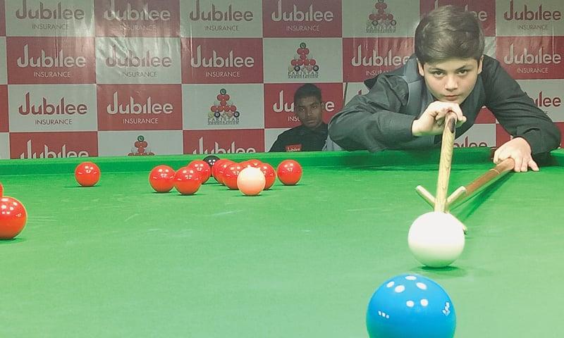 Hamza crowned U-16 snooker champion