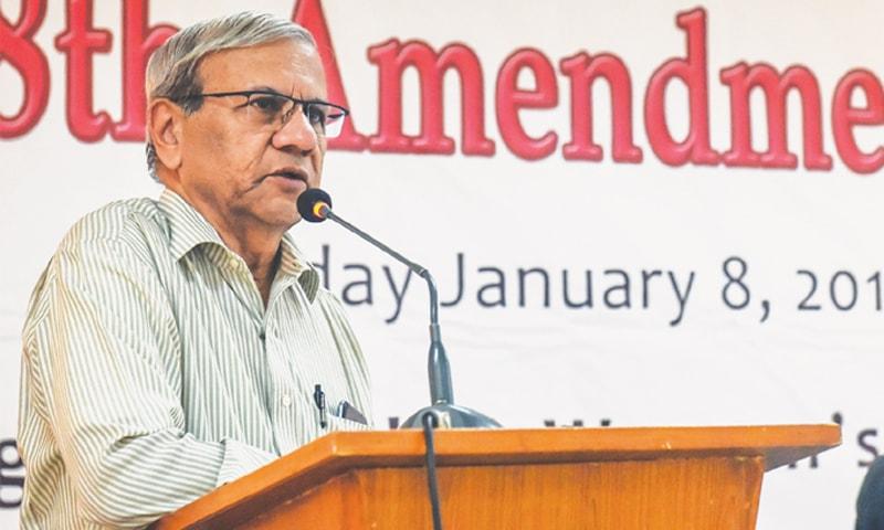 DR Kaiser Bengali speaks at the event on Tuesday.—White Star