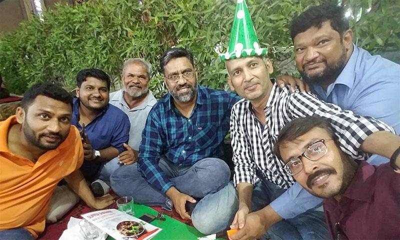 بیماری کے باوجود رومیل کے دوستوں نے ان کی سالگرہ کے موقع پر خاص انتظام کیا