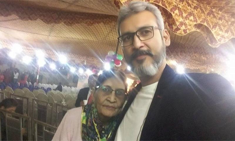 رومیل کینیتھ اپنی والدہ کے ساتھ