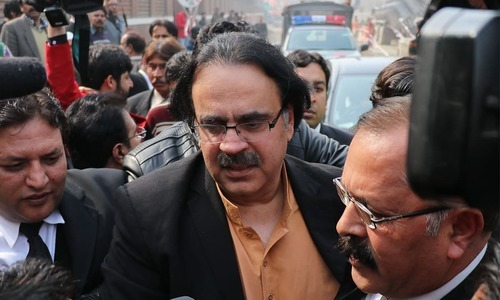 Anchor says he is innocent as FIA has not been able to bring any charges against him. — File
