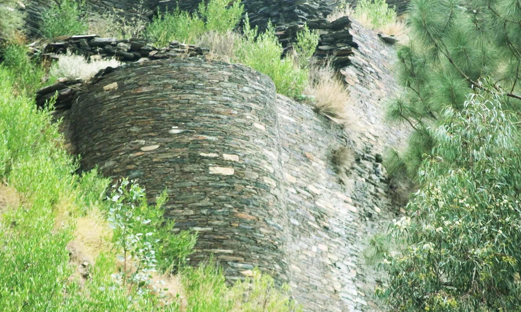 ایسے کئی برج ہیں جن کی مدد سے سیکڑوں سال بعد بھی قلعہ کے آثار باقی ہیں