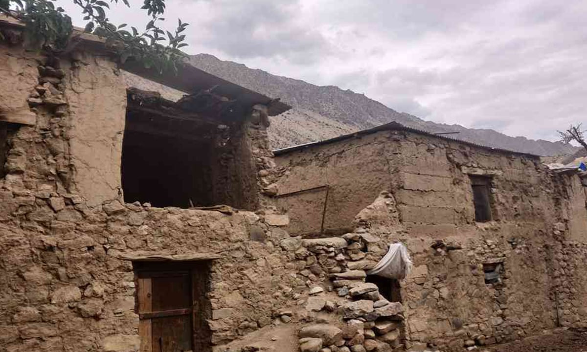 The old homes in Latoo | Photo credit: Asmita Bakshi