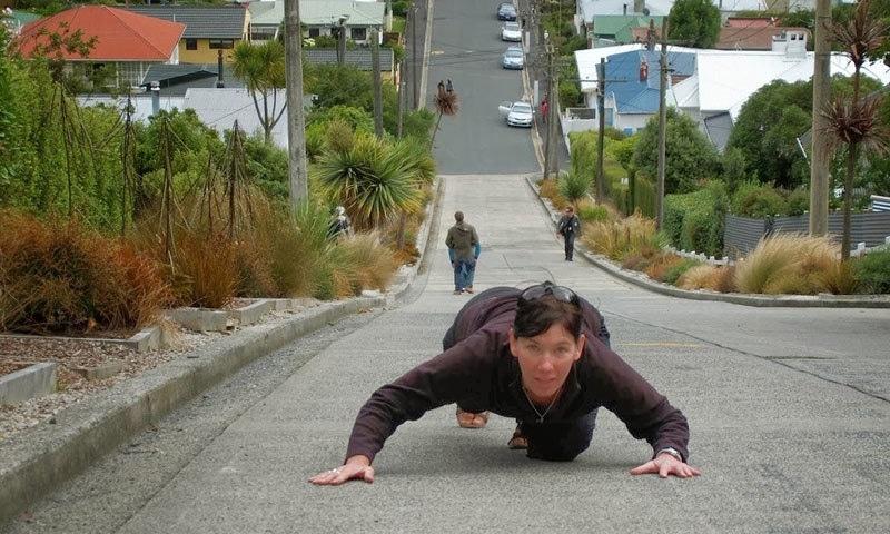 سڑک پر چل کر تجربہ کرنے کے لیے ہزاروں لوگ نیوزی لینڈ آتے ہیں—فوٹو: سی سی ٹی وی