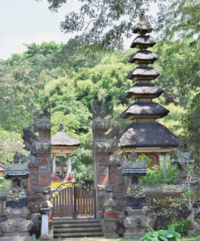 Strong cultural influences combine with the natural setting of the park