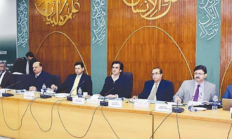 سی ڈی ڈبلیو پی کا اجلاس وفاقی وزیر خسرو بختیار کی سربراہی میں ہوا—فائل فوٹو