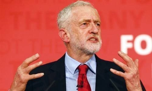 """British Labour leader Jeremy Corbyn called on lawmakers on Thursday to help his opposition party """"break the deadlock"""" over Brexit. ─ File photo"""